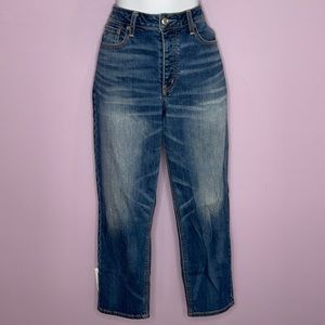American Eagle Button Fly Acid Wash Jeans Size 12